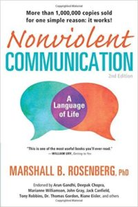 Book cover for Nonviolent Communication by Marshall Rosenberg