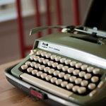 Typewriter Blog